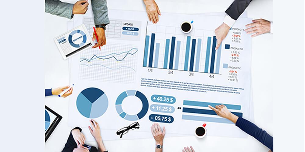 گزارشگیری و داشبورد مدیریتی نرم افزار crm