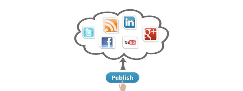 انتشار محتوا در شبکه های اجتماعی