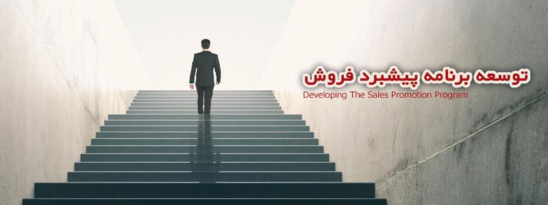 توسعه برنامه پیشبرد فروش