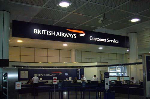 سرویس خدمات مشتریان british airways